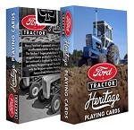 Ford Tractor Heritage Playing Cards Deck
