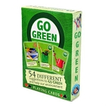 Go Green Enviroment Ideas Playing Cards