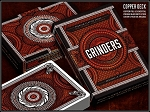 Grinders Copper Playing Cards Deck