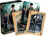 Harry Porter Deathly Hallow Pt 2 playing cards deck