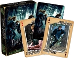 Harry Porter Deathly Hallow Pt 1 playing cards deck