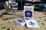 ILLUSION BLUEPRINT PLAYING CARDS
