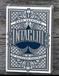 Intaglio Blue Playing Cards Deck