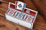 Liberty Set of 6 Playing Cards Deck Set Red & Blue Jumbo