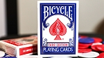 Limited Edition Bicycle Faro (Blue) Playing Cards Deck