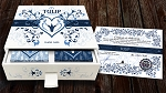 Limited Edition Tulip Playing Cards Set (Dark Blue and Light Blue)
