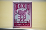 Bicycle Lovely Bear Rider Back Red Playing Cards Deck