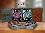 6 Decks Set playing cards on Sale (Empire Keeper, Omnia Antica)