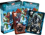 Inhumans Marvel Playing Cards
