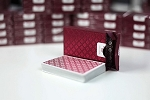 Mint Red luxury playing cards deck