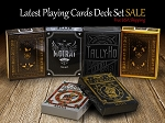 Latest Playing Cards Deck Set Sale (Moirai, Eldorado)