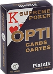 Opti Supreme Poker Playing Cards Deck (Blue)