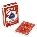 Bicycle Paris Back Red Playing Cards