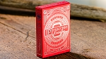 Pinocchio Vermilion Playing Cards (Red)
