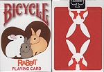 Rabbit Bicycle Playing Cards Poker Size