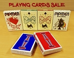 Playing cards on Sale (pipmen, Raven)