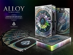 Alloy Cobalt Gilded Numbered Edition Playing Cards Deck
