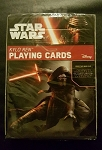 STAR WARS KYLO REN PLAYING CARDS DECK BY CARTAMUNDI