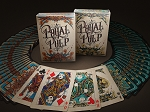 Set of 2 Royal Pulp Red & Green Playing Card Decks By Gamblers Warehouse