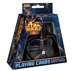 Star Wars - The Story of Vader Playing Cards Deck with Helmet