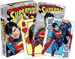Superman youth playing cards deck