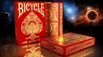 Syzygy Bicycle® Playing Cards Deck Red & Gold
