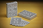 Tally-ho Master White Playing Cards Deck