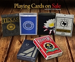 6 Decks Set playing cards on Sale (Texas, Red Keeper)