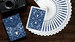 Tulip Playing Cards (Dark Blue)