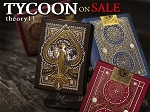 Tycoon Playing Cards Set of all 3 Colors