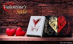Valentine Set of Playing Cards on Sale