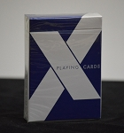 X Playing Cards Deck Blue by Penguin Magic
