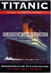 Titanic single deck By Piatnik Playing Cards