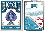 BICYCLE TURQUOISE BACK DECK PLAYING CARDS
