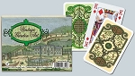 Vintage Garden Double Deck Bridge Size Playing Cards by Piatnik