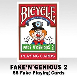Bicycle FAKE' N' GENIOUS 2 Playing Cards