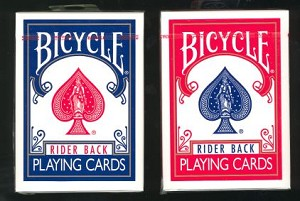 144 Decks of Bicycle Rider Back Playing Cards