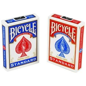 6 Decks of Bicycle Poker Size Standard Index Playing Cards