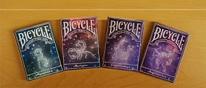 Bicycle Playing Cards Deck Set 2 (Horoscope)