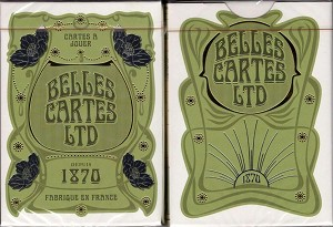 Belles Cartes LTD 1870 Playing Cards EPCC
