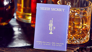 Limited Edition Silver Sackbut Playing Cards V2 (Violet) Deck