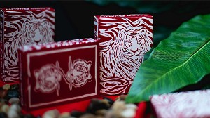 The Hidden King Red Luxury Edition Playing Cards Deck