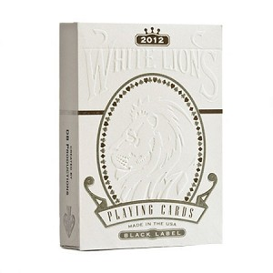 WHITE LIONS BLACK LABEL BY DAVID BLAINE