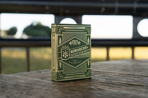Green Monarch Playing cards Deck