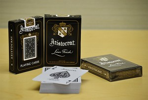 Aristocrat Black Limited Edition Playing Cards Deck (4 Decks Set)