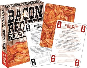 Bacon - Recipes playing cards
