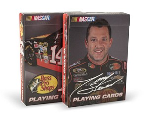 Nascar Tony Stewart Playing Cards ( 2 Deck Set )