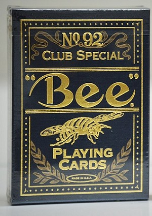 Bee Premium Blue Playing Cards deck