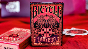 Bicycle Gilded Limited Edition Ladybug (Black) Playing Cards