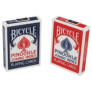 12 Decks of Bicycle Pinochle Jumbo Index Playing Cards FREE SHIPPING